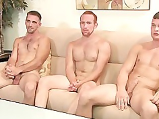 1 str1 lads and a homo guy, but no angel shows up