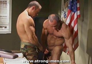 older muscle hunks