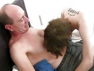 older homosexual dad slamms juvenile taut ass gap