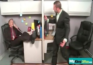 gay males fucked hard in the wazoo at the office