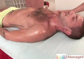 tristan mathews receives oiled and massaged part85