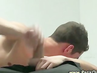 hawt french gays cum hard bj tugjob