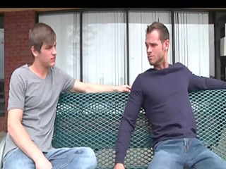 long homosexual episode with group sex scenes