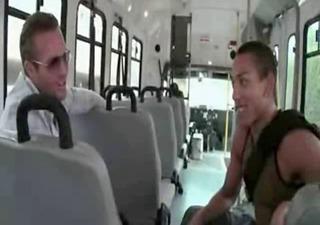 gay bus oral-sex sex