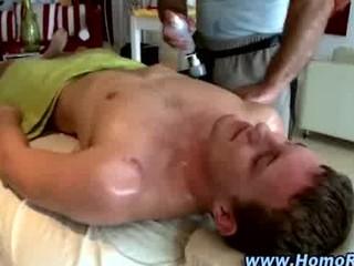 dilettante str boy acquires his gazoo massaged by