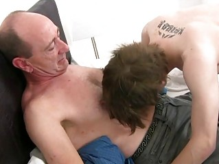older homosexual daddy slamms youthful