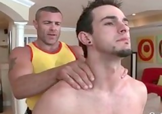 man acquires his giant pierced penis massaged 10