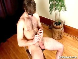 hirsute pierced guy jerking off homosexual sex