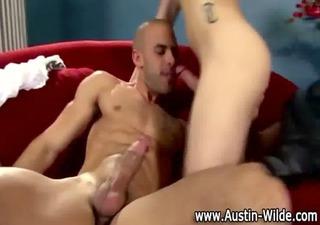 pornstar hunk austin wilde giving head