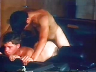 gay vintage sex in a convertible 7