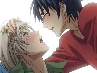 anime homosexual guys having a hot love affair