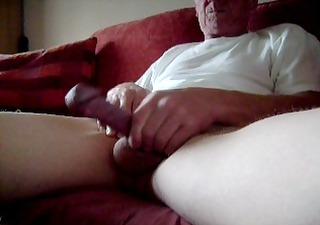 my old cock all inflexible in morning (non cum)