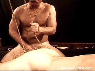 cbt servitude and ball stretching session on my