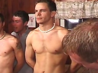 sexy group gay sex party with horny hunks