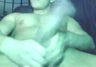 hugh cock tugjob on web camera