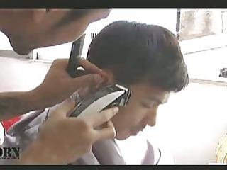 the nastiest oriental gay hairdresser