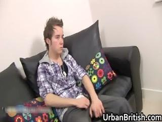 teen callum jackson jerking off his precious gay