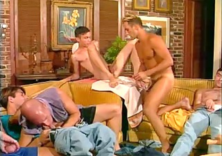hot and hung: nine men in one room means hawt sex