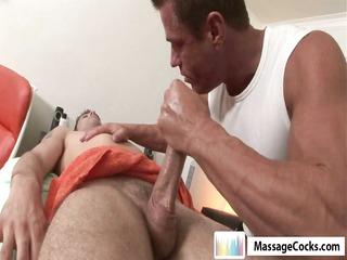 massagecocks first time massage