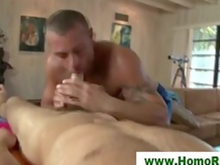 straight guy fucking his masseuse